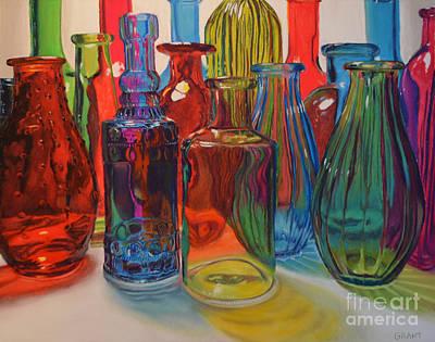 Seeing Glass Art Print
