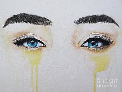 Painting - Seeing Into The Soul Secretive by Malinda  Prudhomme