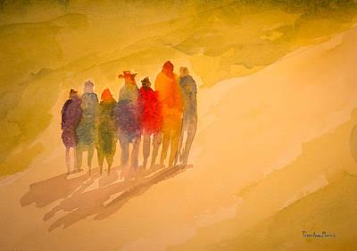 Seekers I Art Print