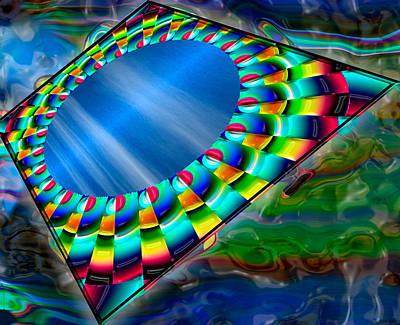 Seeking Digital Art - Seeking Calm  by Wendy J St Christopher