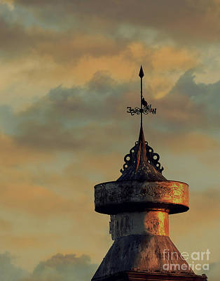 Weathervane Photograph - Seeking Direction by Christina Williams
