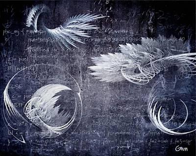 Digital Fractal Flame Art Digital Art - Seeking Our Roots by Gun Legler