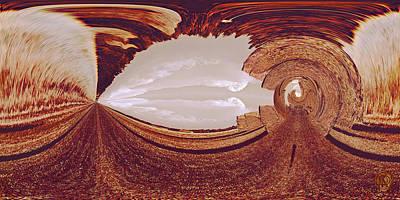 Digital Art - Seeking Oz by Dolores Kaufman