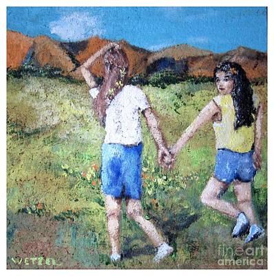 Painting - Seeking The Path by Joseph Wetzel