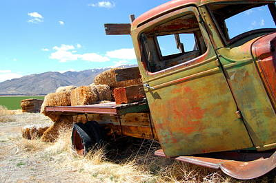Photograph - Seen Better Days Truck by Tamyra Crossley
