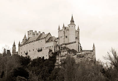 Photograph - Segovia Castle  by Lorraine Devon Wilke