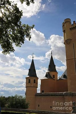 Castle Photograph - Segovia Castle On Beautiful Day by Carol Groenen
