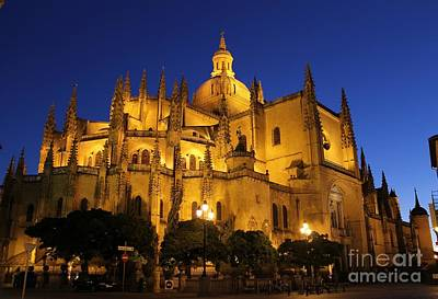 Photograph - Segovia Cathedral by Ines Bolasini