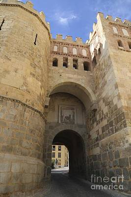Castle Gate Photograph - Segovia City Gate by Carol Groenen
