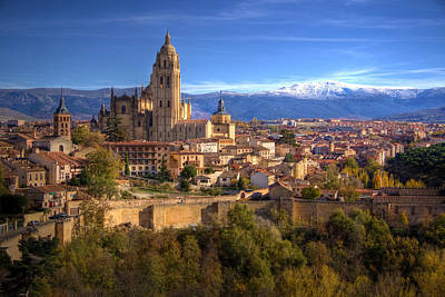 Photograph - Segovia From The Alcazar by Levin Rodriguez