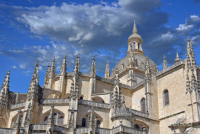 Segovia Gothic Cathedral Art Print