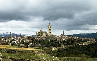 Photograph - Segovia Surrounded by Lorraine Devon Wilke