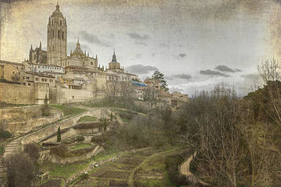 Landmarks Royalty Free Images - Segovia View Royalty-Free Image by Joan Carroll