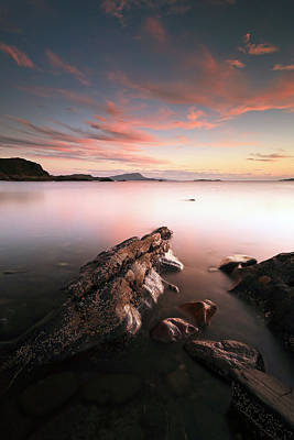 Photograph - Seil Island Sunset by Grant Glendinning