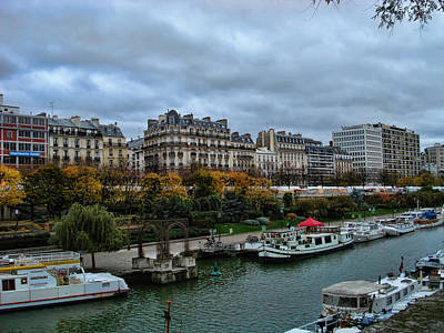 Liberte Photograph - Seine by Paris  France