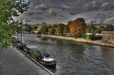 Photograph - Seine Study Number One by Michael Kirk
