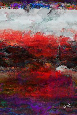 Digital Art - The Lighthouse by The Art Of JudiLynn