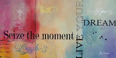 Seize The Moment Print by Gino Savarino