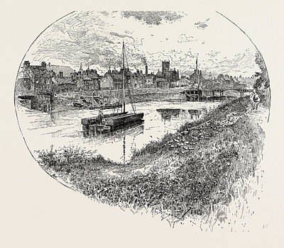 Selby Drawing - Selby, A Town And Civil Parish In North Yorkshire by English School