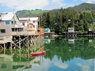 Photograph - Seldovia Alaska by Lisa Dunn