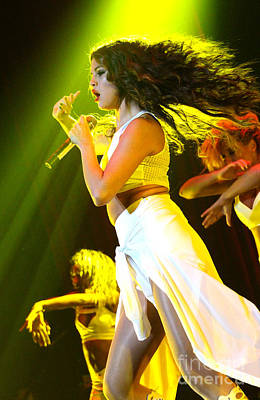 Concert Photograph - Selena Gomez-9793 by Gary Gingrich Galleries