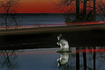 Photograph - Selene At Sunset by Jerry Gammon