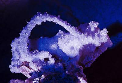 Selenite Crystal Art Print by Kenan Sipilovic
