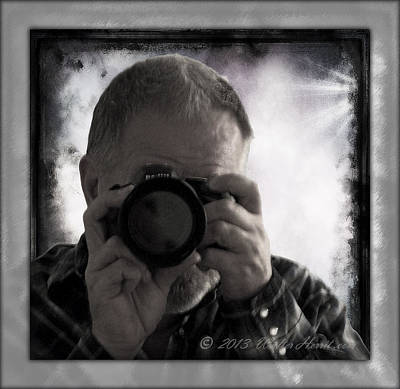 Photograph - Self - Portrait 1 by Walter Herrit