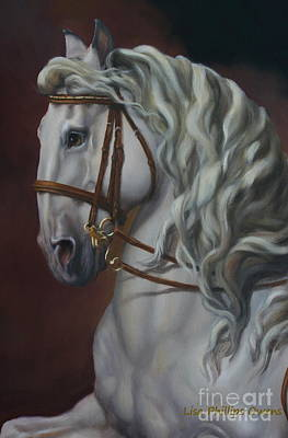 Canter Painting - Self Carriage by Lisa Phillips Owens