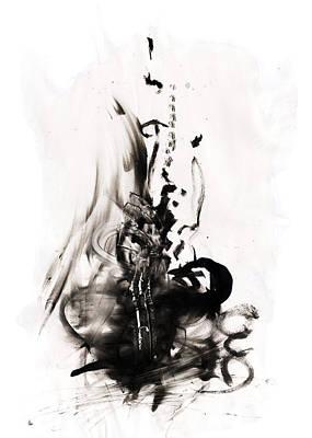 Self-destruction Art Print