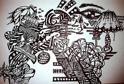 Self Expression Art Print