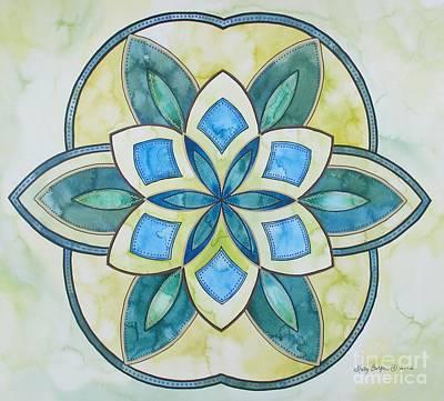 Painting - Self Love Mandala by Holly Burger
