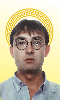 Male Portraits Digital Art - Self Portrait  by Joaquin Abella
