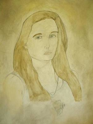 Painting - Self Portrait 1 by Samantha L