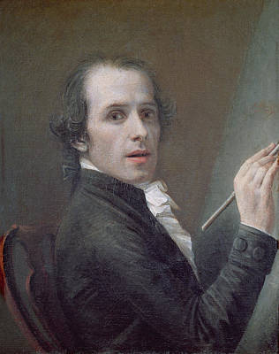 Painter Photograph - Self Portrait, 1790 Oil On Canvas by Antonio Canova