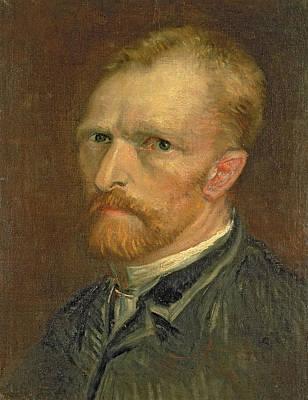 Self Portrait, 1886 Art Print by Vincent van Gogh