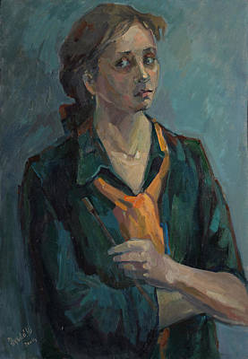Painting - Self Portrait 2004 by Juliya Zhukova