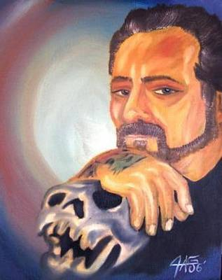 Painting - Self Portrait 2006 by The GYPSY