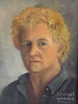 Painting - Self Portrait 2014 by Randy Burns