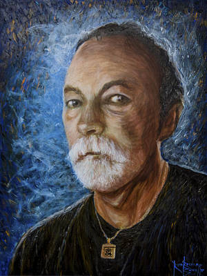Painting - Self Portrait 2015 by Ron Richard Baviello