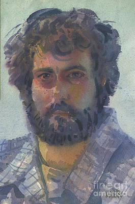 Self-portrait 27 Print by Donald Maier