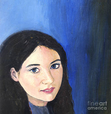 Painting - Self-portrait At 22 Years by Deanna Yildiz