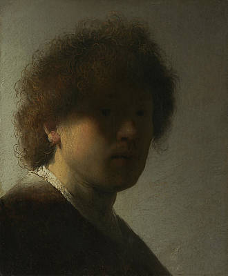 Painting - Self-portrait At An Early Age by Celestial Images