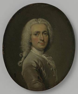 Self-portrait Drawing - Self-portrait, Cornelis Troost by Litz Collection