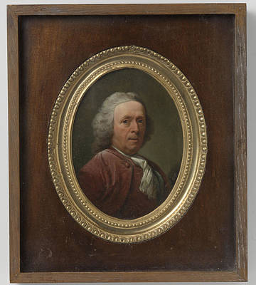 Self-portrait Drawing - Self-portrait, Dionys Van Nijmegen by Litz Collection