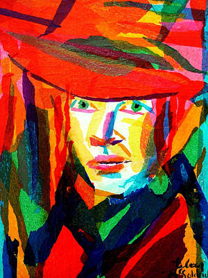 Self-portrait Mixed Media - Self Portrait by Eileen McGoldrick