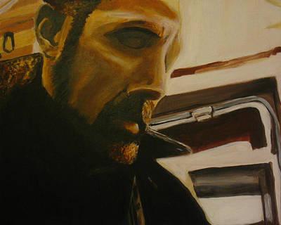 Self Portrait Art Print by Frank Troy