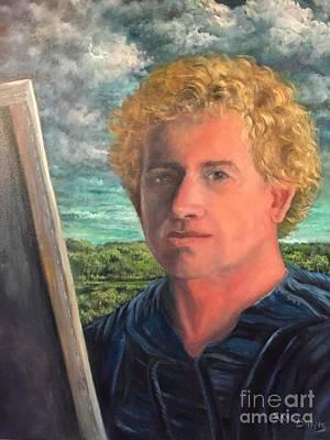 Painting - Autorretrato Con Jorongo by Randy Burns