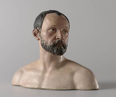 Self-portrait Drawing - Self-portrait, Johan Gregor Van Der Schardt by Quint Lox