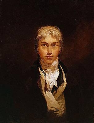 Turner Artwork Painting - Self Portrait by Joseph Mallord William Turner